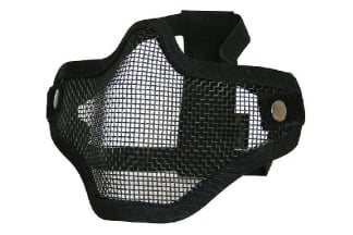 Viper Cross Steel Mesh Mask (Black)