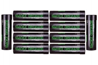 Enola Gaye WP40 Wire Pull Smoke (Green) Box of 10 (Bundle)