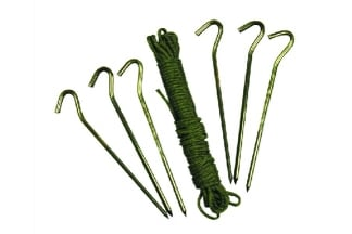 Web-Tex Ultralight Shelter Peg Set