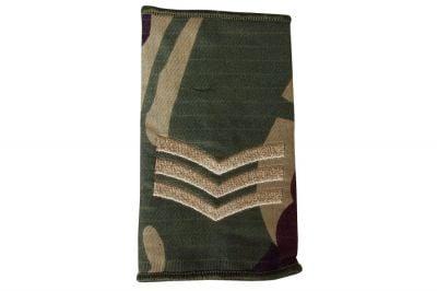Web-Tex Rip-Stop Rank Slide Pair (DPM) - Sgt