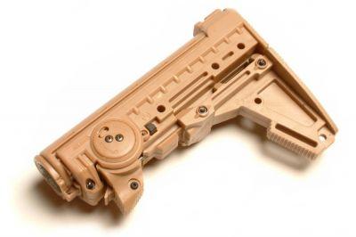 Warsmith MagPul Replica PTS M93 Stock for M4 Series (Tan)