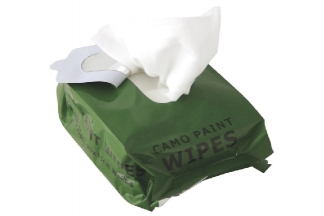 Web-Tex Camo Cream Removal Wipes
