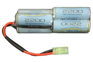 Zero One 8.4v 2200mAh NiMH Battery for Aug