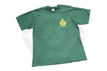 Royal Marines T-Shirt (Green) - Size Large