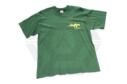 "Army ""Steadfast"" SA80 T-Shirt (Green) - Size Extra Large"