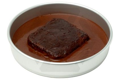 British Ration Pouch - Chocolate Pudding with Chocolate Sauce - BBE March 2017