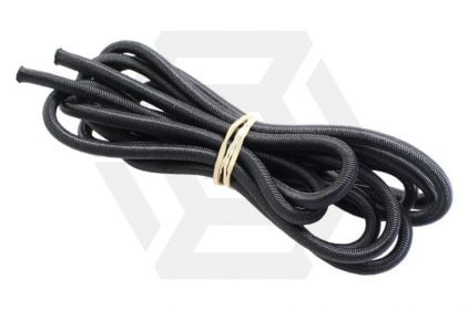 Zero One Bungee Cord 5mm x 2m (Black) © Copyright Zero One Airsoft