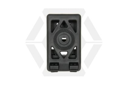 Amomax Belt Clip for Rigid Polymer Holster (Black) © Copyright Zero One Airsoft