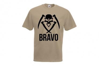 Daft Donkey Special Edition NAF 2018 'Bravo' T-Shirt (Tan)