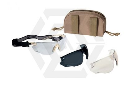 Bollé Ballistic Glasses Set Combat (Tan)