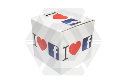 "EB Coffee Mug ""I Love Facebook"""
