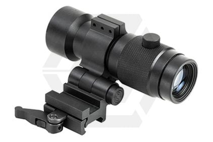 NCS 3x Prismatic Magnifier with Flip Mount