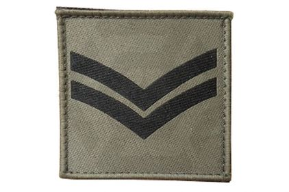 Commando Rank Patch - Cpl (Subdued) © Copyright Zero One Airsoft