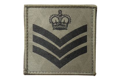 Commando Rank Patch - S/Sgt (Subdued)