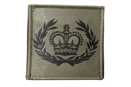 Commando Rank Patch - WO2 RQMS (Subdued)