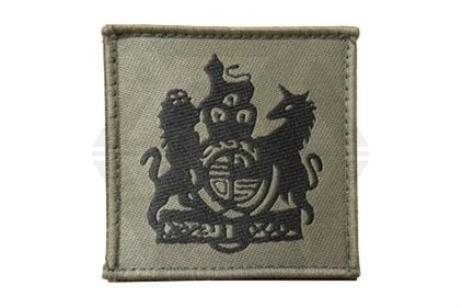 Commando Rank Patch - WO1 / RSM (Subdued) © Copyright Zero One Airsoft