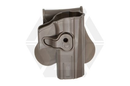ASG Rigid Polymer Holster for CZ P07 & P-09 (Dark Earth)