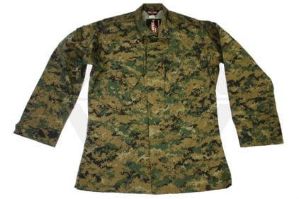 "Tru-Spec U.S. BDU Rip-Stop Shirt (Digital Woodland) - Chest L 41-45"" © Copyright Zero One Airsoft"