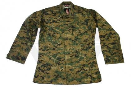 "Tru-Spec U.S. BDU Rip-Stop Shirt (Digital Woodland) - Chest S 33-37"" © Copyright Zero One Airsoft"