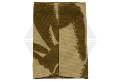 Rank Slide Pair (Desert DPM) - 2/Lieutenant