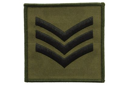 Commando Rank Patch - Sgt (Subdued)