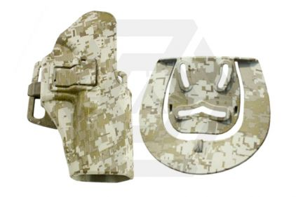 EB CQC SERPA Holster for Glock 17, 22, 31 & 18C (Digital Desert)