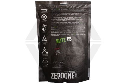 Zero One Blitz BB 0.25g 5000rds (White) Carton of 20 (Bundle)