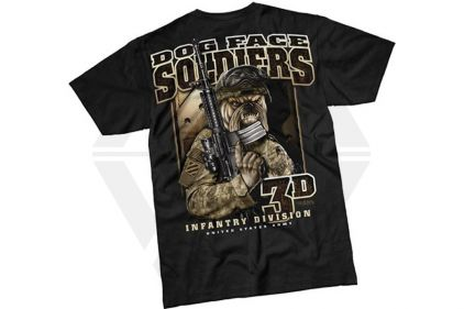 7.62 Design T-Shirt 'Dog Face Soldiers' (Black) - Size Extra Large