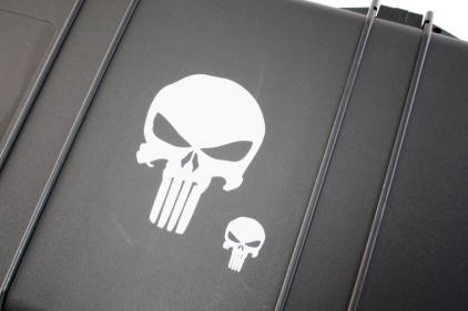 Zero One Vinyl Decal 'Punisher Skull' © Copyright Zero One Airsoft