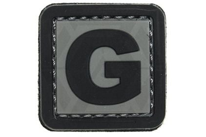 "VOS PVC Velcro Patch ""G"""