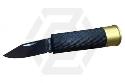 Jack Pyke Shotgun Shell Knife (Black) © Copyright Zero One Airsoft
