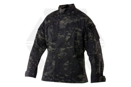 "Tru-Spec Tactical Response Shirt (Black MultiCam) - Size Small 33-37"""