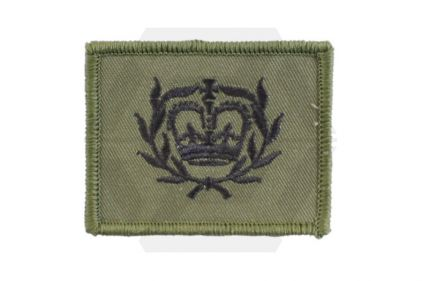 Helmet Rank Patch - WO2 RQMS (Subdued) © Copyright Zero One Airsoft
