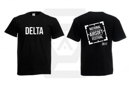 Daft Donkey Special Edition 'NAF 2017 Delta' T-Shirt (Black)