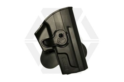 Amomax Rigid Polymer Holster for SP2022 (Black) © Copyright Zero One Airsoft
