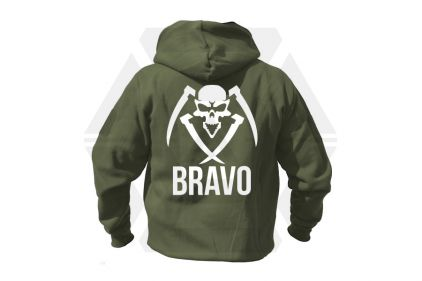 Daft Donkey Special Edition NAF 2018 'Bravo' Viper Zipped Hoodie (Olive) © Copyright Zero One Airsoft