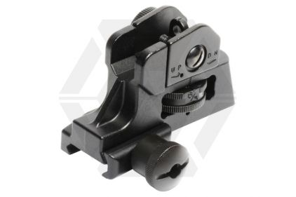 G&G 20mm RIS Rear Sight M4 Style (Black)