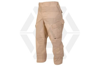 "Tru-Spec Tactical Response Trousers (Khaki) - Size Small 27-31"" © Copyright Zero One Airsoft"