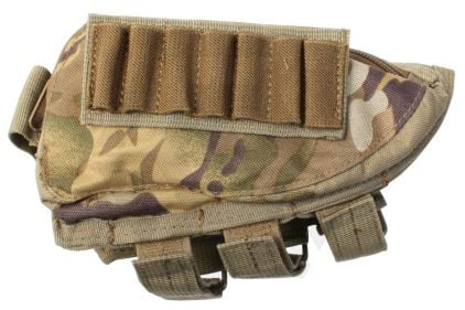 Mil-Force Cheek Pad Ammo Pouch (MultiCam)
