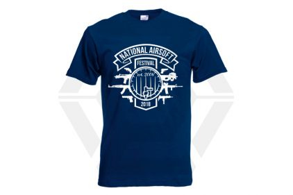 Daft Donkey Special Edition NAF 2018 'Est. 2006' T-Shirt (Navy) © Copyright Zero One Airsoft