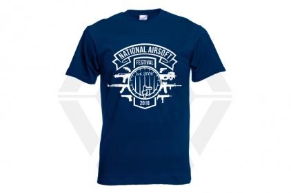 Daft Donkey Special Edition NAF 2018 'Est. 2006' T-Shirt (Navy)
