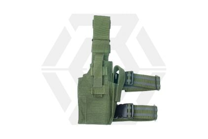 Guarder Right Handed Pistol Thigh Holster (Olive)