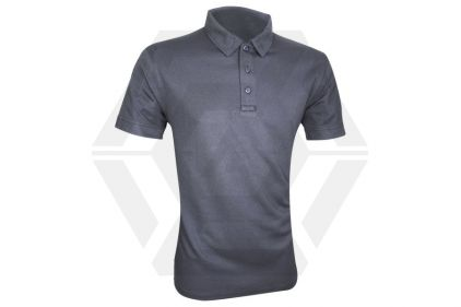 Viper Tactical Polo Shirt Titanium (Grey) - Size Large