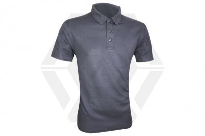 Viper Tactical Polo Shirt Titanium (Grey) - Size Extra Extra Large © Copyright Zero One Airsoft
