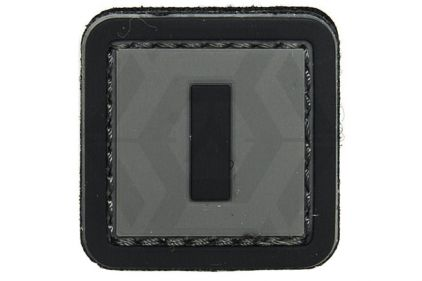 "VOS PVC Velcro Patch ""I"""