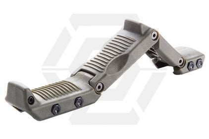 ASG HERA Arms Multi-Position Foregrip for 20mm Rail (HFGA) (Olive)