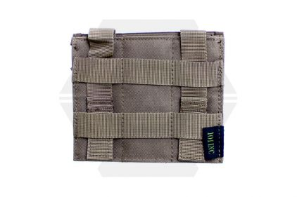 101 Inc MOLLE Elastic Triple Pistol Mag Pouch (Coyote Tan)