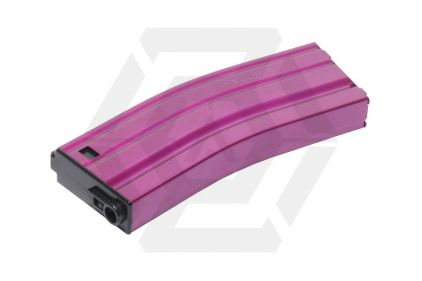 G&G AEG Mag for M4 125rds (Pink) © Copyright Zero One Airsoft