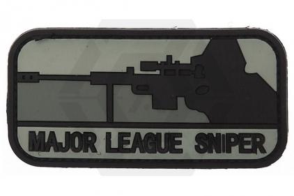 """VOS PVC Velcro Patch """"Major League Sniper"""""""