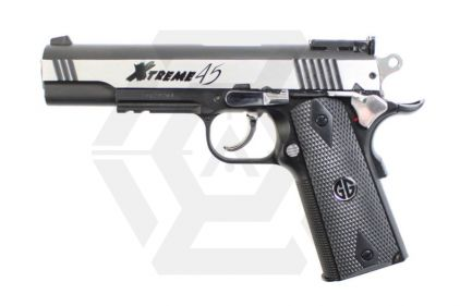 G&G CO2 Xtreme .45 (Silver) © Copyright Zero One Airsoft